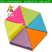 Custom Fluorescent Sticky Note Die Cut Shape Paper