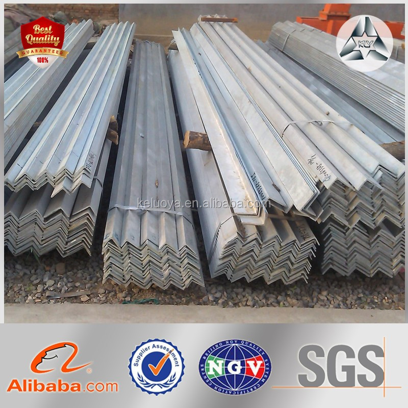 Customized Angle Bars with Holes, Bundle Packed Angel Iron Bars