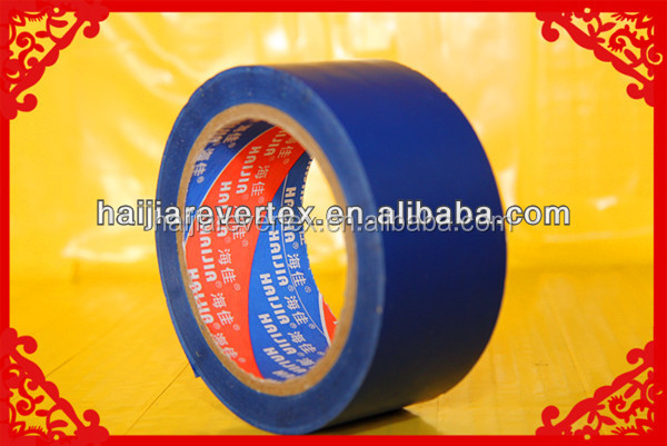 100m pvc adhesive Safety Stripe Tape for warning and sign