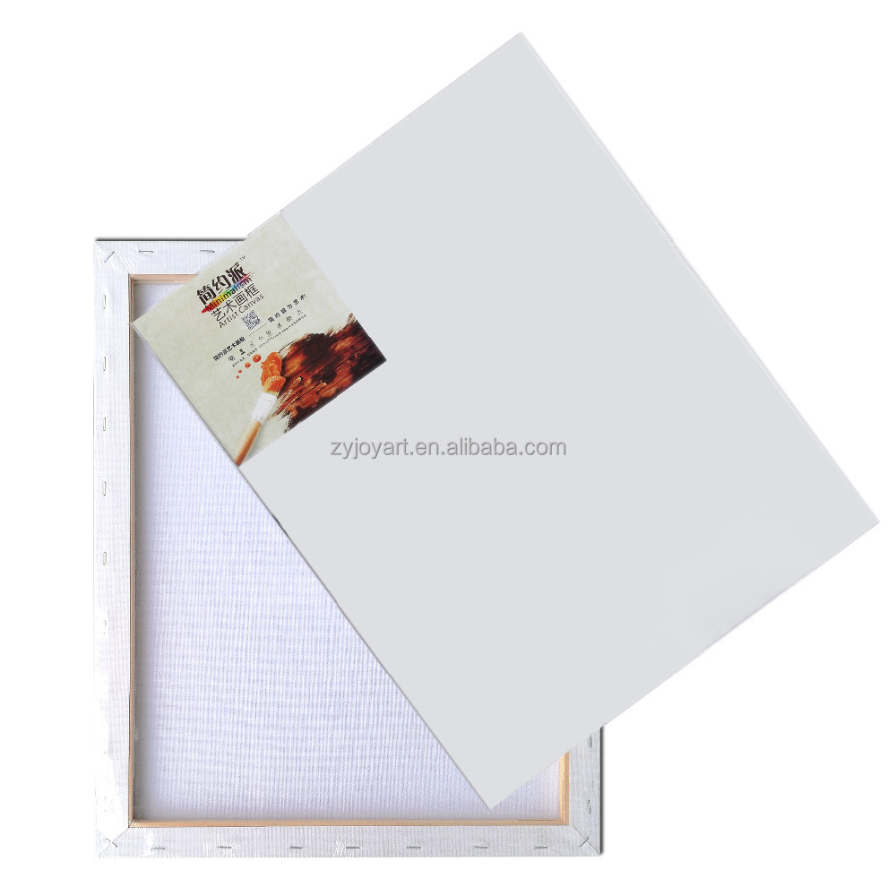 Super value BLANK canvas painting <strong>16</strong>&quot; <strong>x</strong> 20&quot; pure cotton 2 pack set oil painting