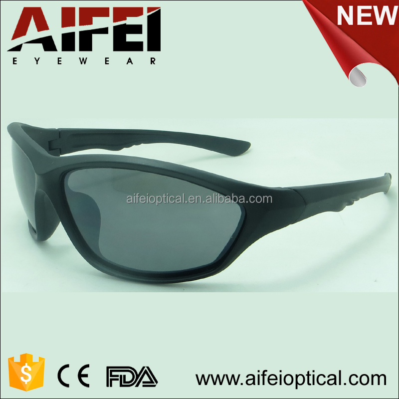 2016 new model plastic sports sunglasses for men and women