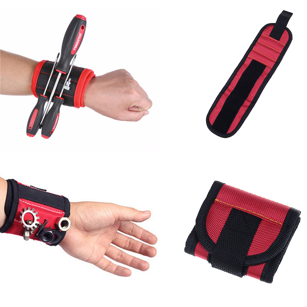 Wholesale cheap price magnetic wristband for holding <strong>tools</strong>