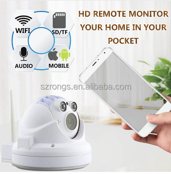 Wifi IP Camera 720p Wireless Mini CCTV P2P Camera Baby Monitor Security P/T Micro TF Card Camera With 3D Noise Reduction