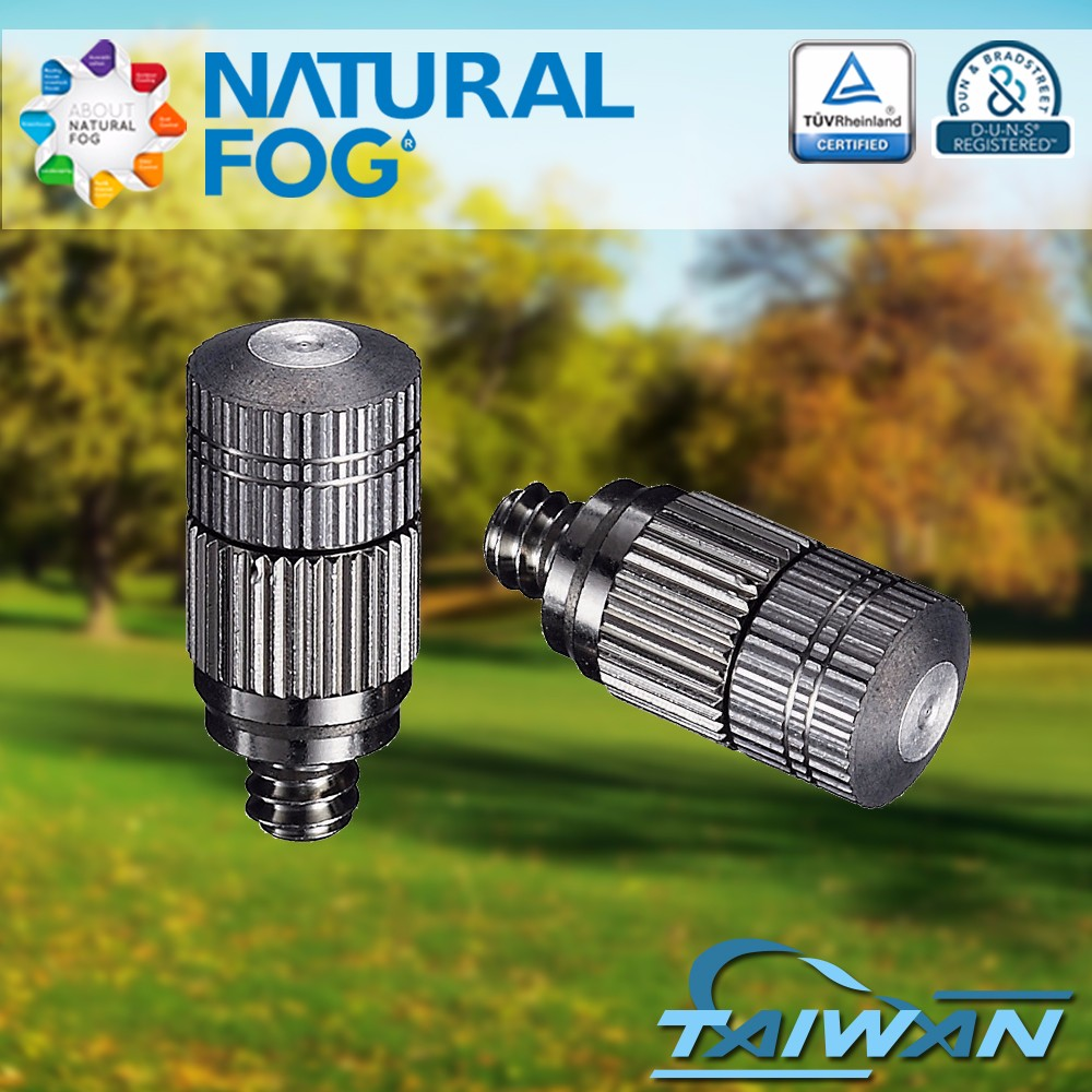 Taiwan Natural Fog Patented High Pressure Cooling Humidification Fog Stainless Steel Mist Nozzle