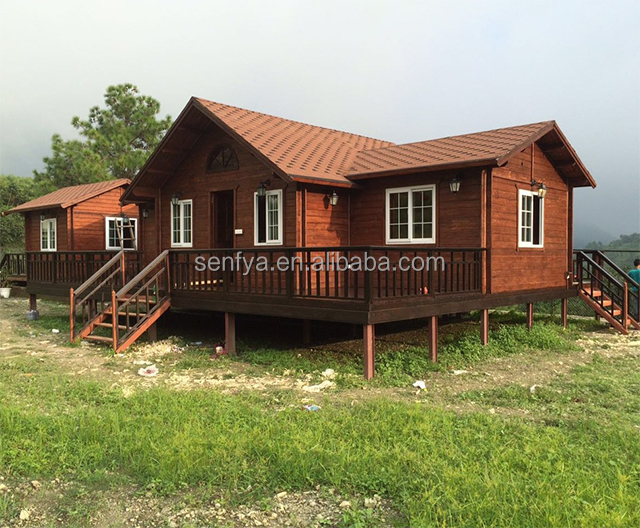 New design Russia timber frame prefab tiny house with cheap price