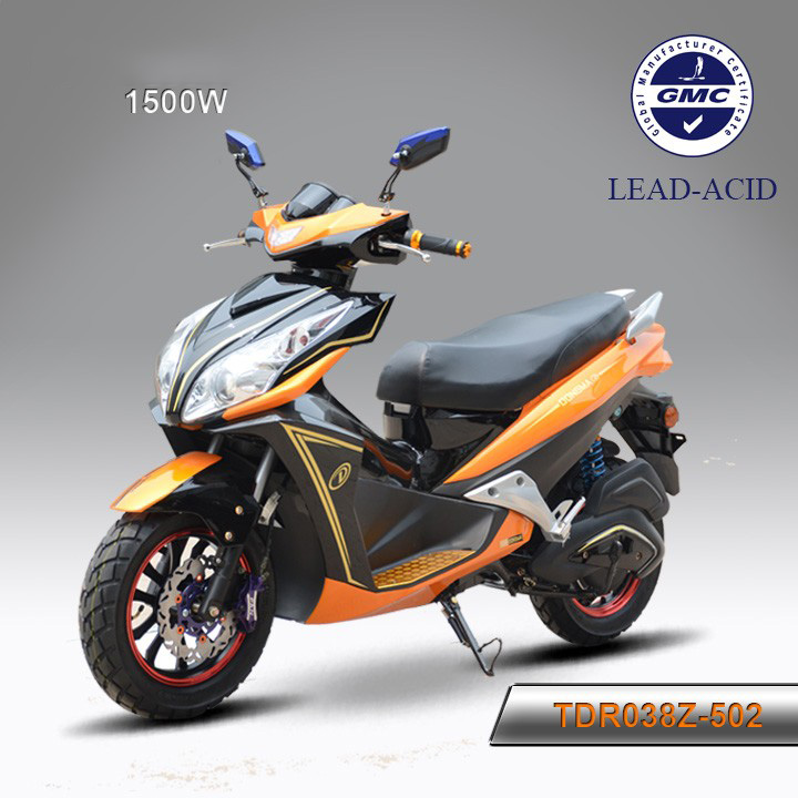 2016 newest product 72V 1500W full size electric motorcycle