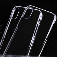Wholesale New Fit Ultra Slim Thin TPU Transparent Clear shell protector Cover smartphone Case For iPhone X 8 mobile phone