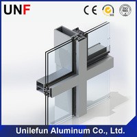 Manufacturer Aluminum Profile for Composite Curtain Wall