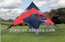 Versatile canopy canvas tent/ star shade tent / star shape tent