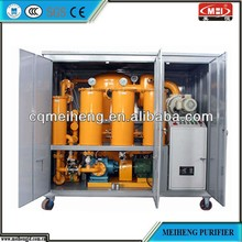 China MeiHeng High-efficiency Vacuum Oil Purifier Machine (Series ZL)