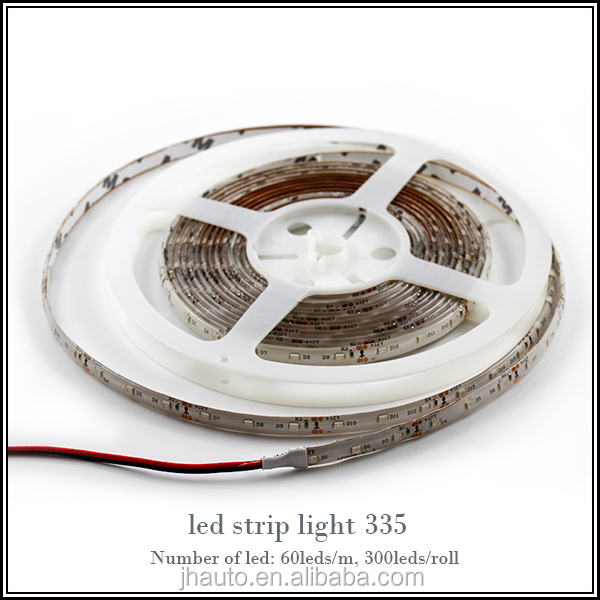 RGB/White/Green/Blue/Red Led Strip 12V 335SMD 5 Meter waterproof led strip light led flexible strip