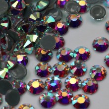 LOCACRYSTAL Brand Cheap New Style Strass Hotfix Flatback Diamond Rhinestone