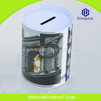 High quality new great money save tin coin bank