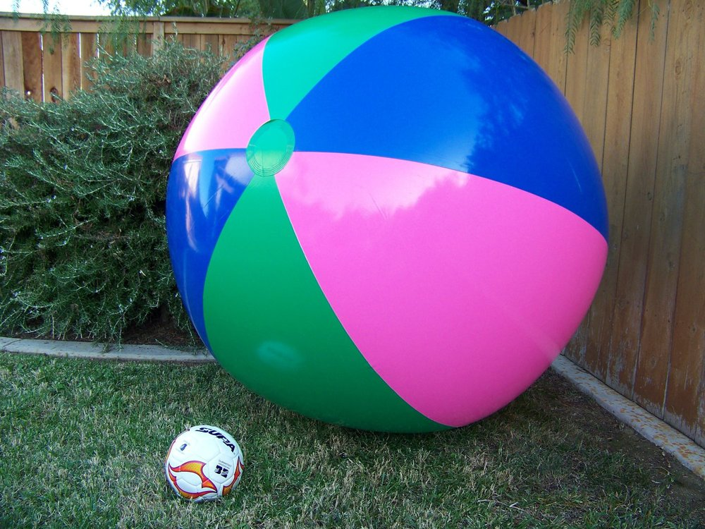 Promotional Giant Inflatable Beach Ball