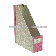 file display holder / beautiful leather item paper document