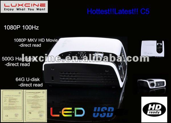 C5 DLP 1080P Full HD Projector