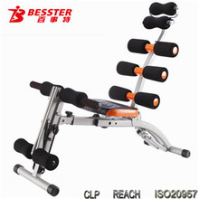 Best JS-060S Whole Body Building Equipment Gym Fitness Folding AB Training Pro