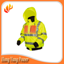 7.4 Volt Winter Coat battery electrical heated jacket for Work