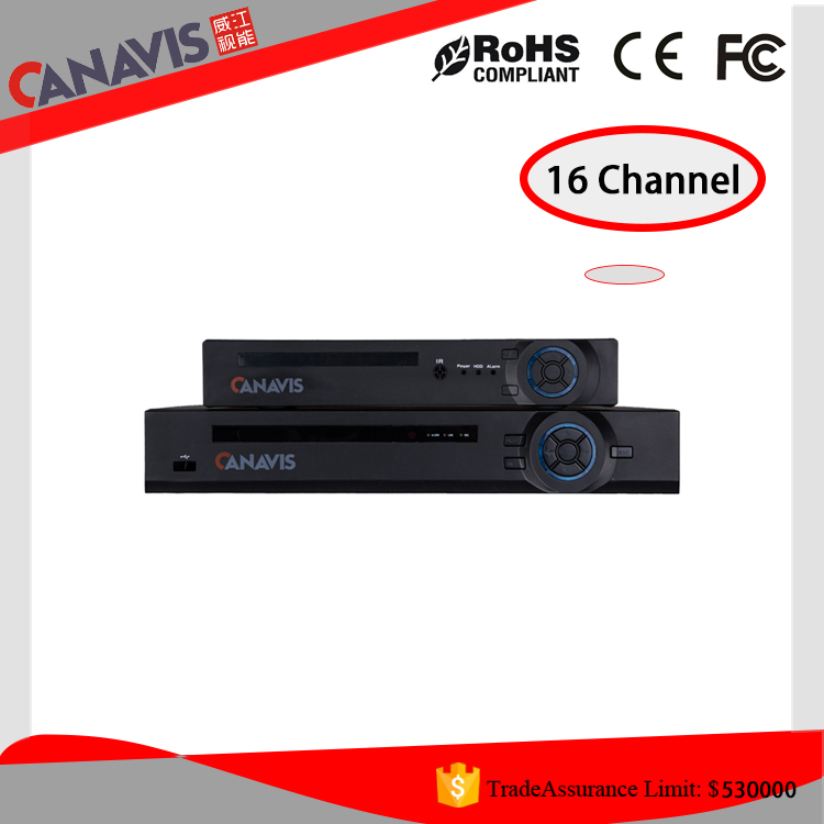 CANAVIS brand hi-tech surveillance camera dvr16 channel h.264 AHD network hd dvr manual security cctv dvr