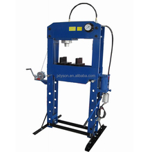Auto 50Ton Hydraulic/Pneumatic Shop Press with Movable Ram with CE