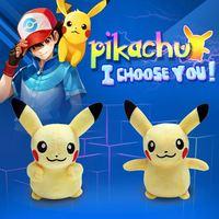 20cm Pikachu Plush Toys High Quality Cute Pokemon Plush Toys Children's Gift Toy Kids Cartoon Peluche Pokemon Pikachu Plush Doll