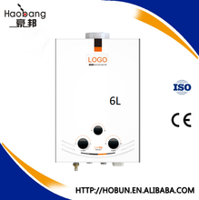 Wholesale lpg gas hot water heater boiler burner with Shower Head