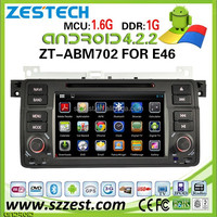 Zestech Android 4.4.4 OS Autoradio multimedia for E46 android Car Dvd Gps Bluetooth radio