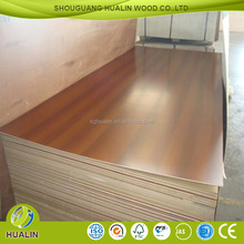 20mm thick colored melamine coated mdf board price