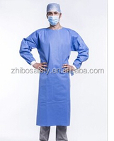 PP/PE+PP/PE/SMS/PVC/CPE disposable /single use smock