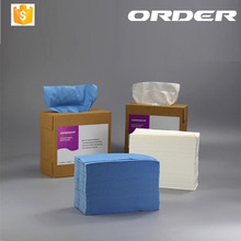 2017 ORDER Spunlace Cellulose Nonwoven Industrial Cleaning Wipes