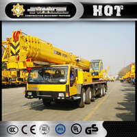 50t china telescopic used truck crane manufacturer qy50k-ii