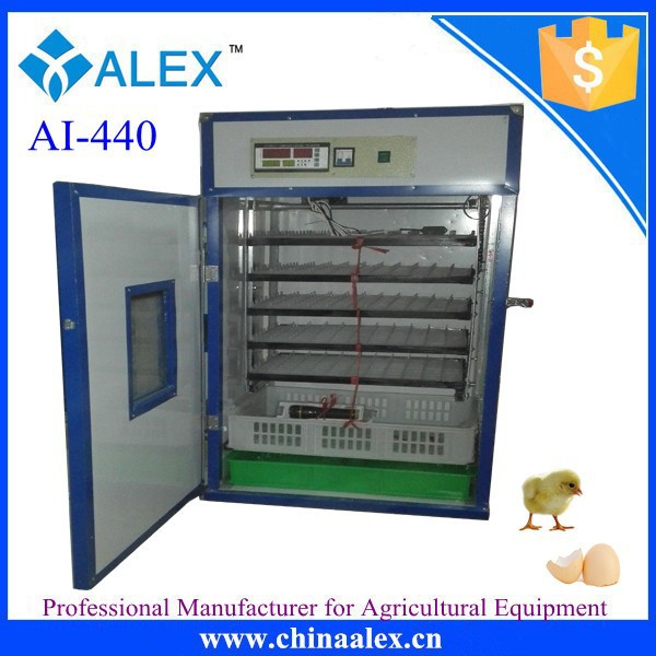 CE approved cheap chinese chicken eggs incubators 440 capacity machines hatching eggs