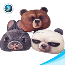 Various cartoon stuffed soft plush sofa 3d cushion fashion decorative animal pillow
