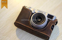 Handmade Band High quality genuine leather camera cover case