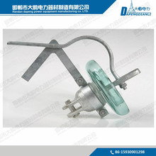Fiber glass FRP suspension insulator for electric line components