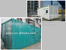 big power genset generator price for reefer container made of galvanized steel