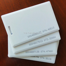 China manufacturer facebook id card Printable Blank RFID Smart Card