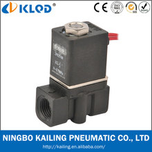 2p025-08 1/4 inch direct acting air water plastic solenoid valve