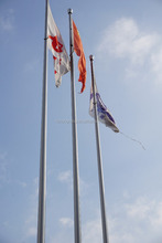 Factory Direct Selling Aluminium Flag Pole Remote Controlled Flagpole