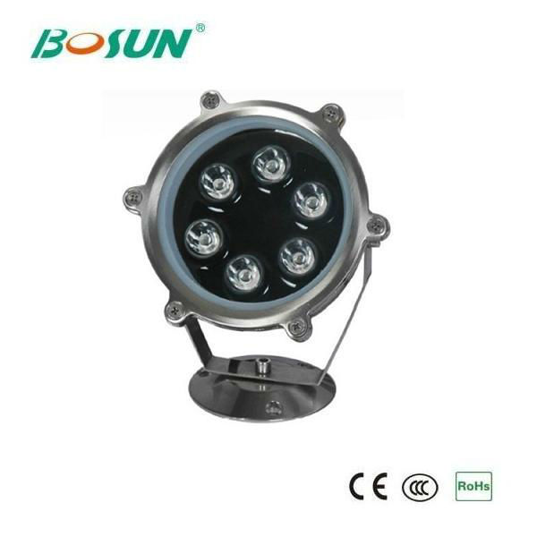 Fountain Swimming Pool Lamp IP68 6W LED Underwater Light