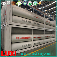 Carbon Steel Oil Or Gas Tank Steel Cylinder Cng Container , Cng Cascade