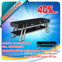 Promotion furniture LCD wooden tv stand, Sweet Home brand, HD-GW15060PB
