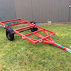 Small Car Trailer Transporter Flatbed Trailer