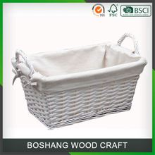 Easter Willow/Wicker Basket For Food And Fruits