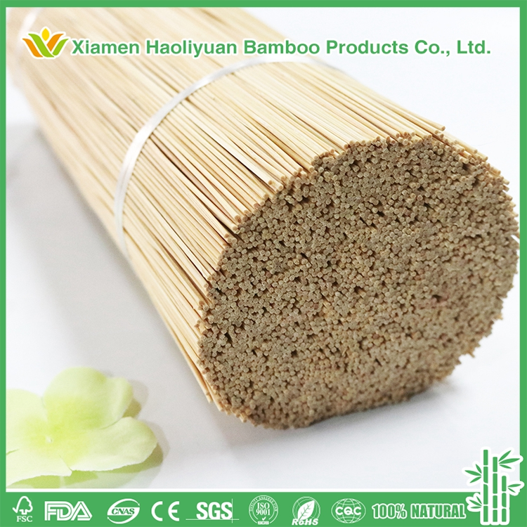 Indian Feature Bamboo Round Bamboo Sticks for Incense