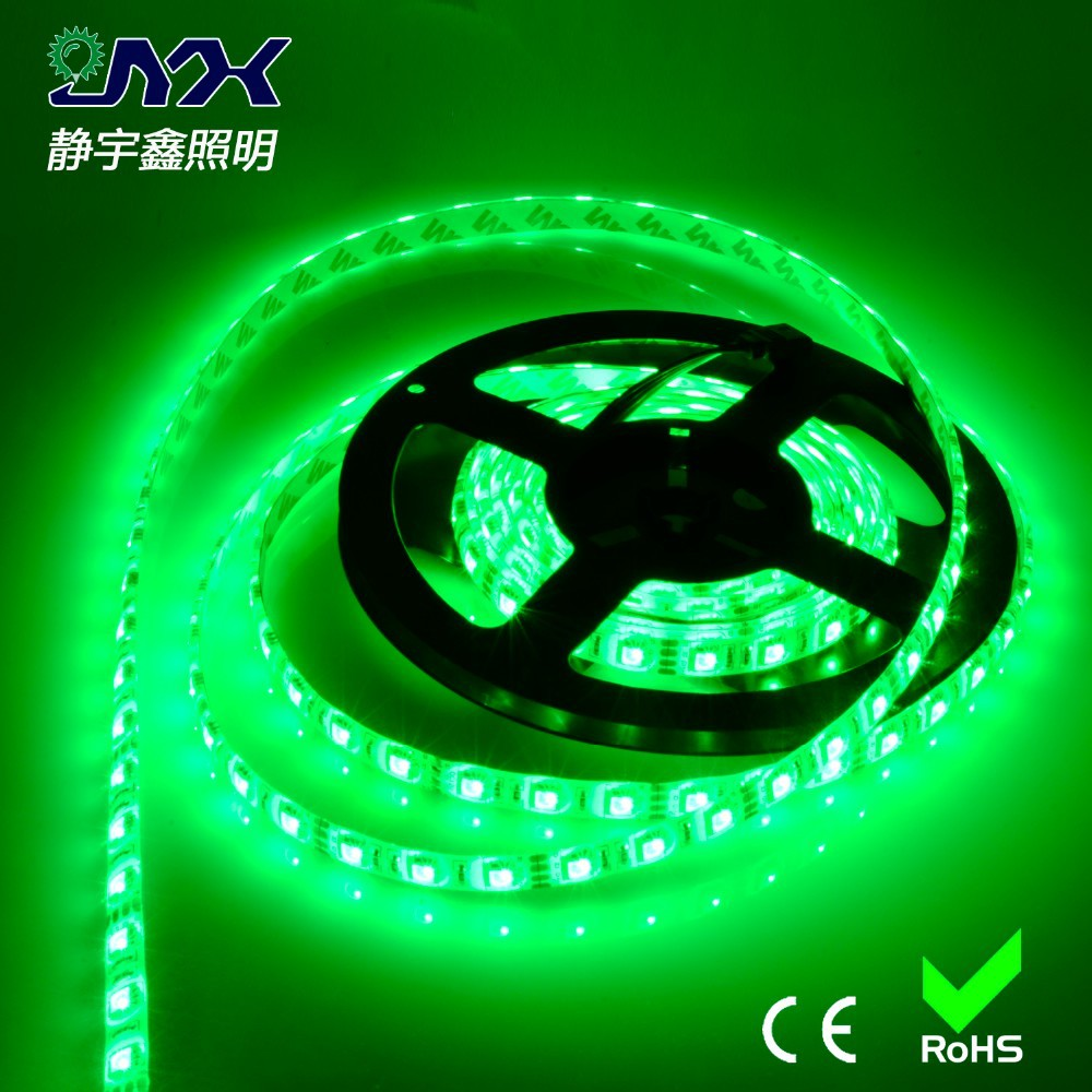 High quality waterproof led grow light bar 10-12lm/led 5M 5050 SMD RGB Led strip light passed CE.ROHS,FCC