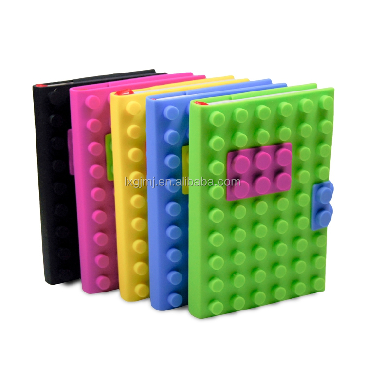 China Supplier silicone note book cover/softcover book printing