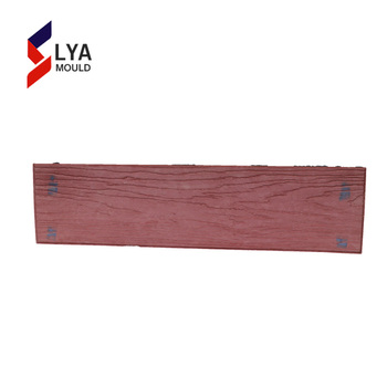 manufacturer wood imprint rubber stamped concrete flooring moulds for concrete
