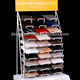 Popular marble stone samples display stand/Desktop Display Rack