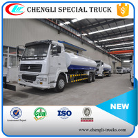HOWO 30 Litres 6x4 6x6 RHD Fuel Tank Truck Oil Transport Tanker Vehicle Manufacturer